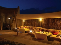 Bab Al Shams - outdoor sitting